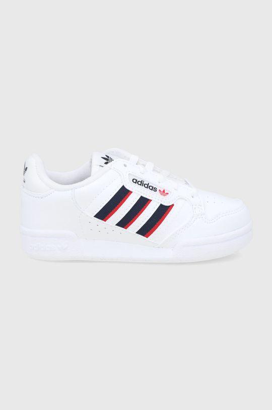 biela adidas Originals - Detské topánky CONTINENTAL 80 Detský