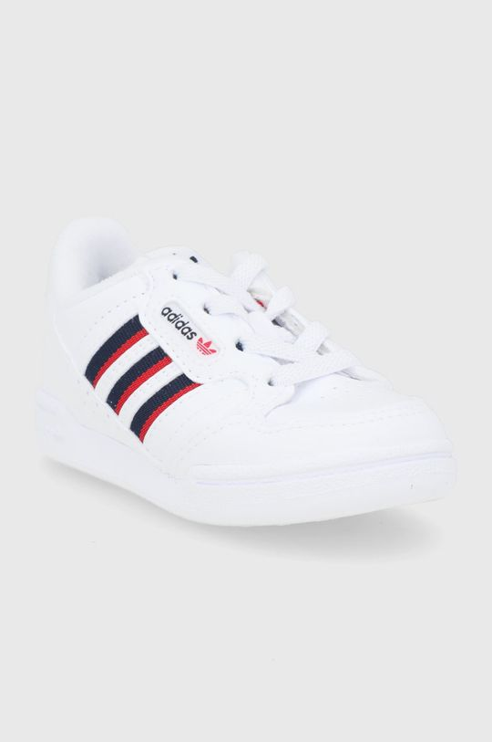 adidas Originals - Detské topánky Continental 80 biela
