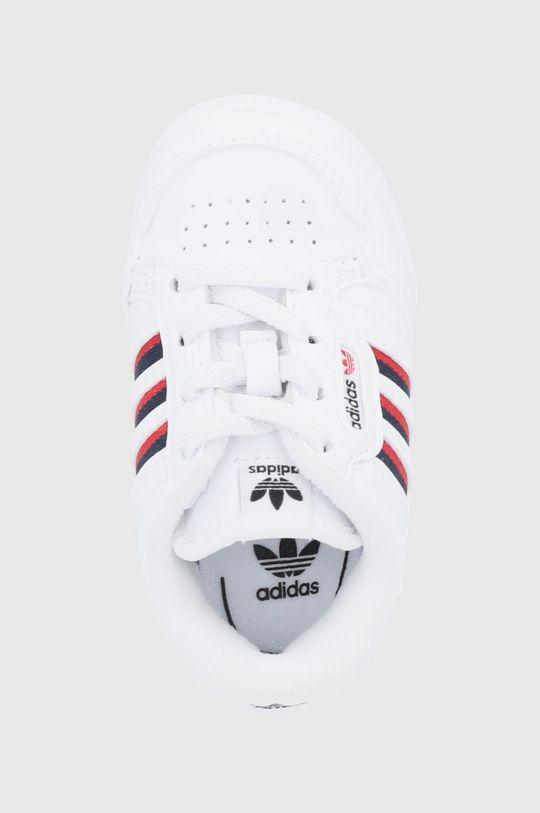 biela adidas Originals - Detské topánky Continental 80
