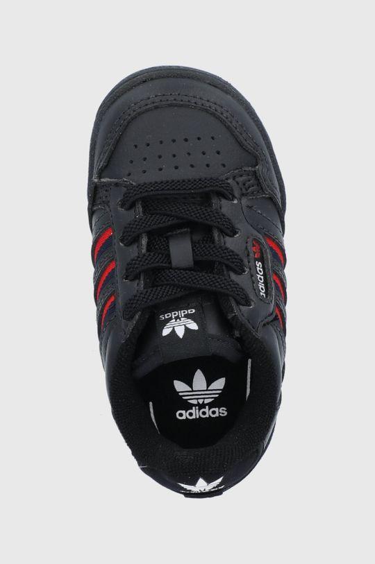 černá adidas Originals - Dětské boty Continental 80 Stripes