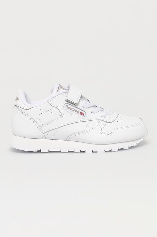 alb Reebok Classic - Pantofi copii CL LTHR 1V De copii