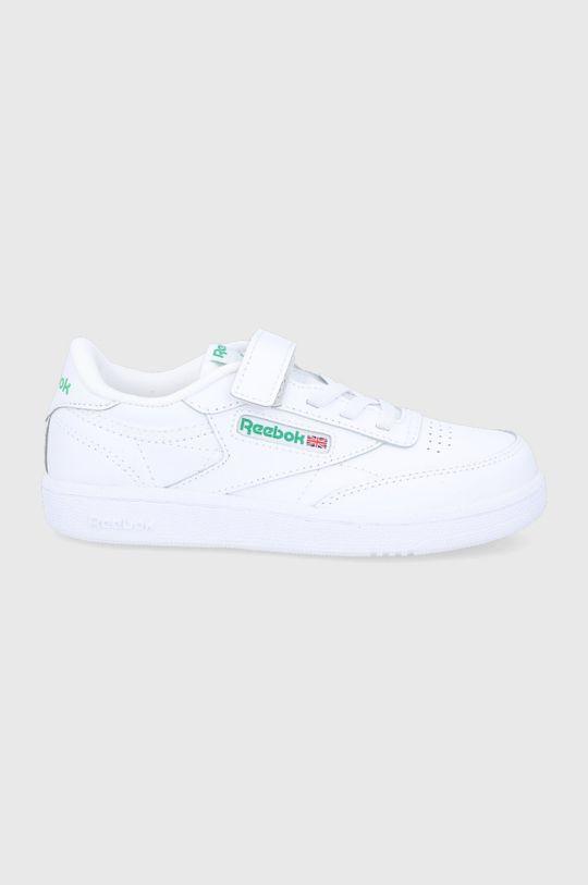 alb Reebok Classic - Pantofi copii CLUB C 1V De copii