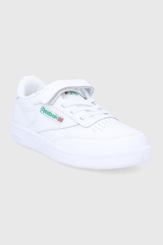 Reebok Classic - Pantofi copii CLUB C 1V alb