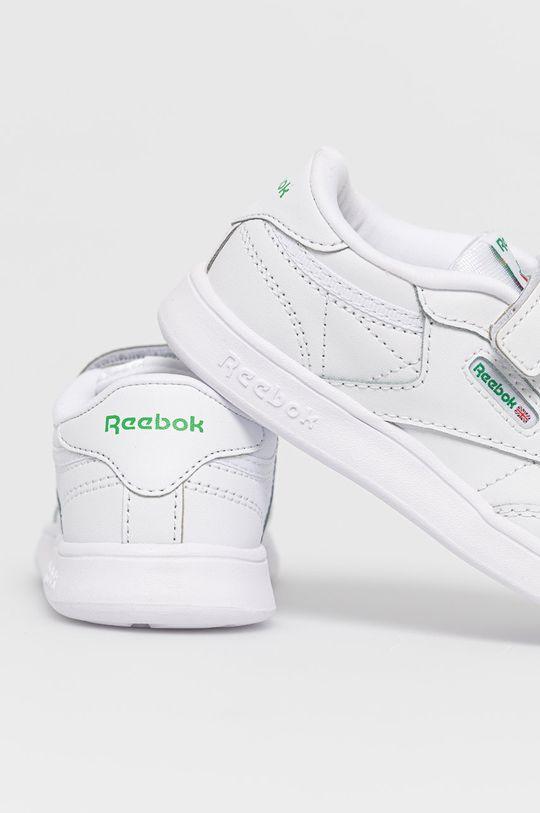 biały Reebok Classic - Buty dziecięce Club C