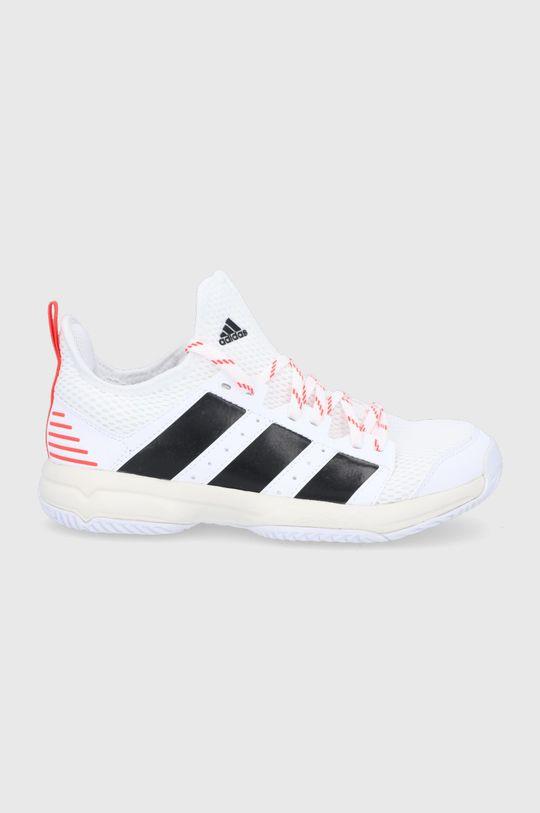 biela adidas Performance - Detské topánky Stabil Detský