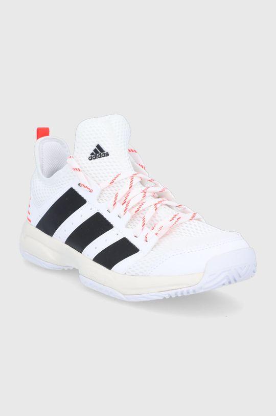 adidas Performance - Detské topánky Stabil biela