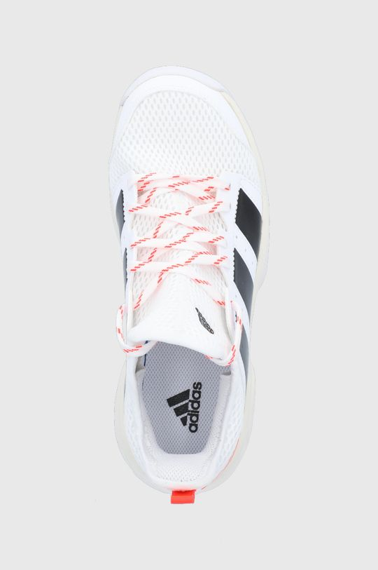 biela adidas Performance - Detské topánky Stabil