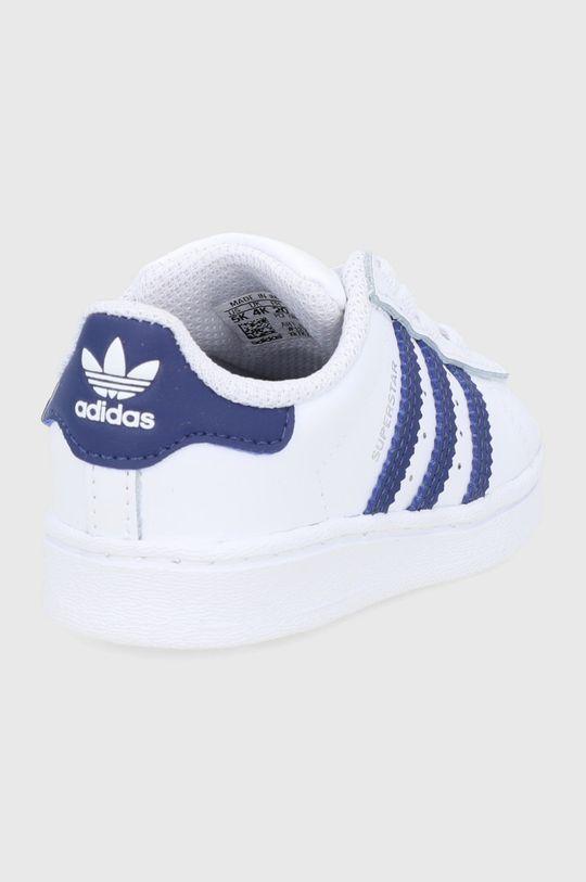 adidas Originals - Buty skórzane dziecięce Superstar Cholewka: Materiał syntetyczny, skóra powlekana, Wnętrze: Materiał tekstylny, Podeszwa: Materiał syntetyczny