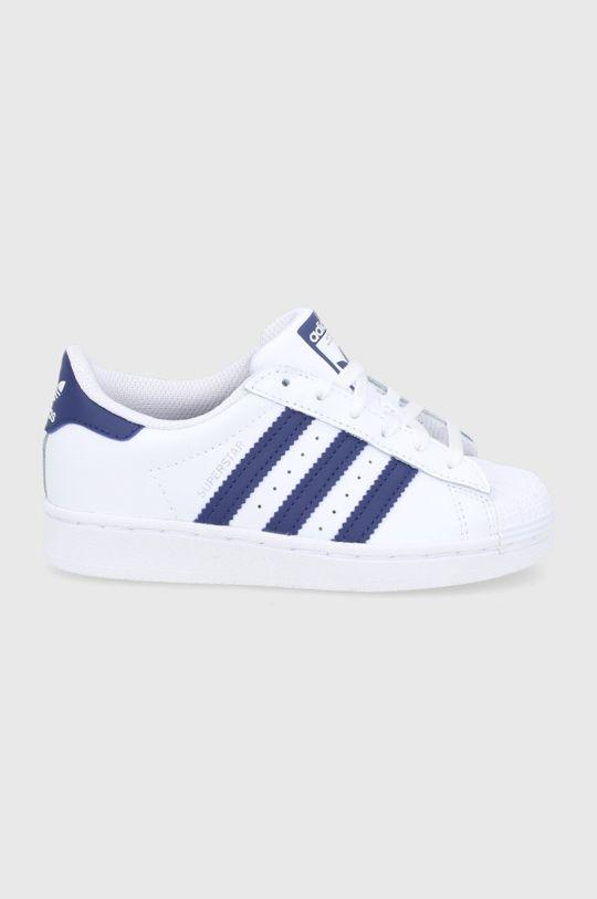 bílá adidas Originals - Dětské boty Superstar Dětský