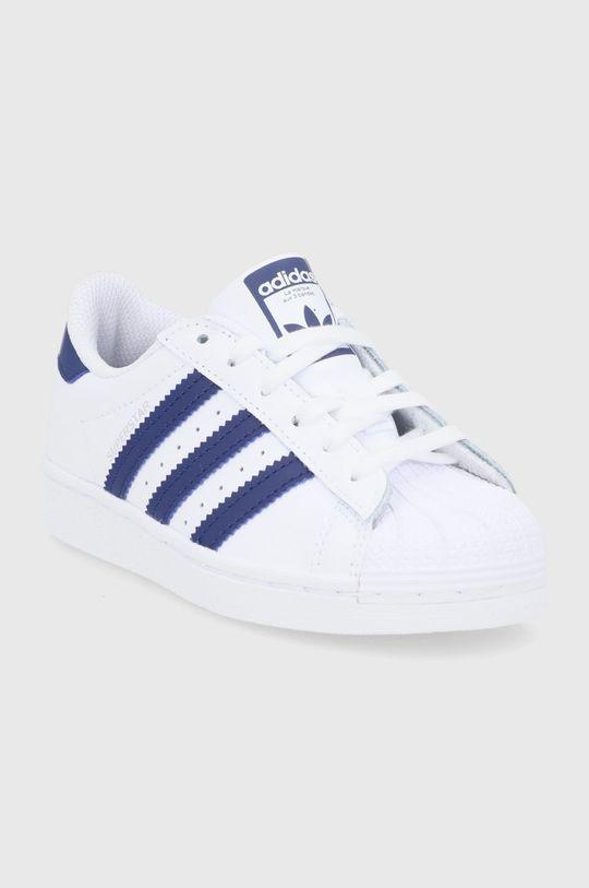 adidas Originals - Dětské boty Superstar bílá