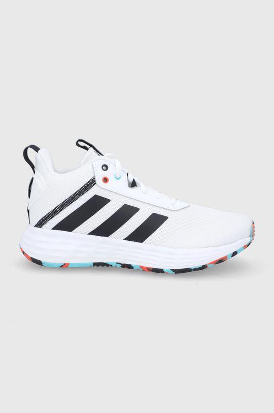 biela adidas - Detské topánky Ownthegame 2.0 Detský