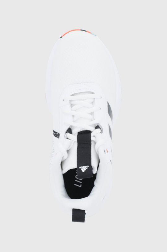 biela adidas - Detské topánky Ownthegame 2.0