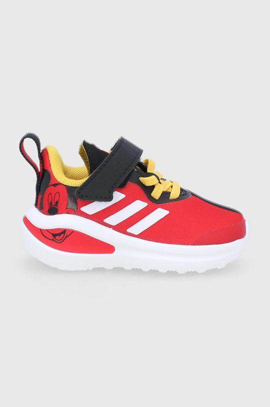 czerwony adidas Performance - Buty dziecięce FortaRun Mickey I Dziecięcy