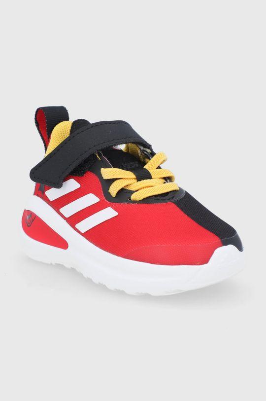 adidas Performance - Buty dziecięce FortaRun Mickey I czerwony