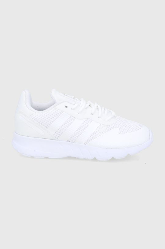 biały adidas Originals - Buty dziecięce ZX 1K C Dziecięcy