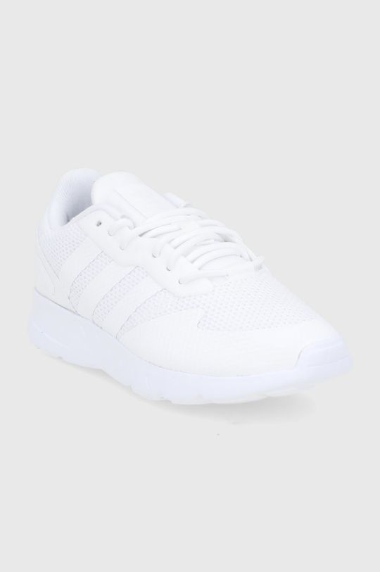 adidas Originals - Buty dziecięce ZX 1K C biały