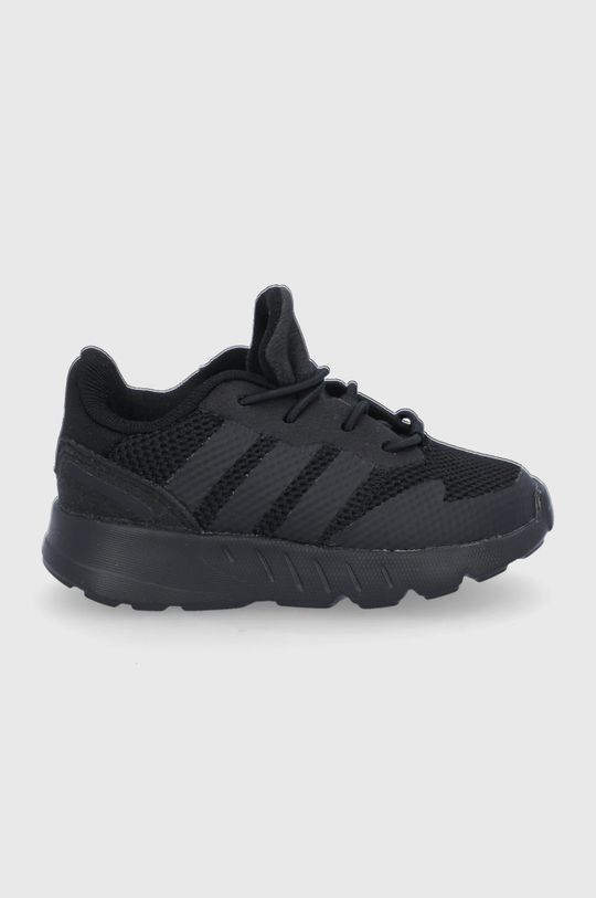 czarny adidas Originals - Buty ZX 1K EL Dziecięcy