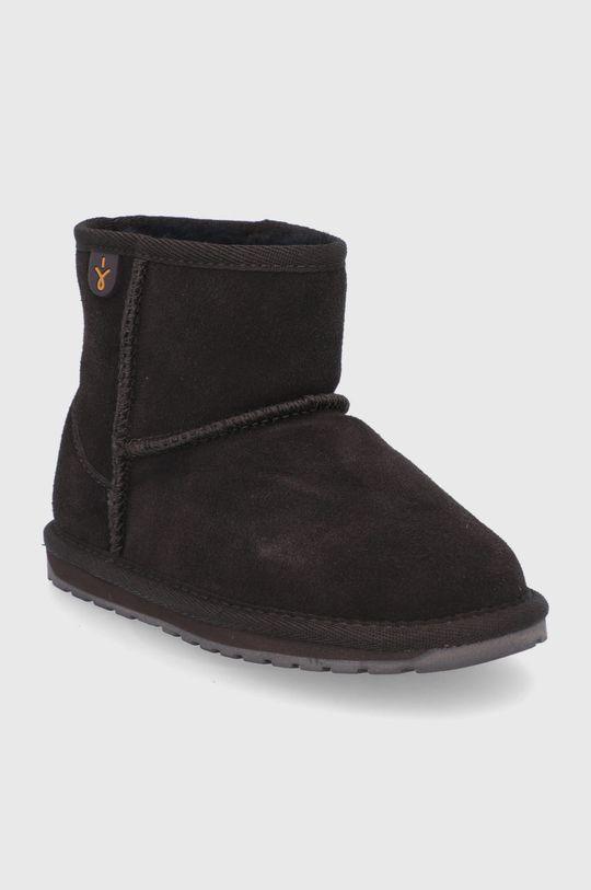Emu Australia - Zimné topánky Wallaby Mini tmavohnedá