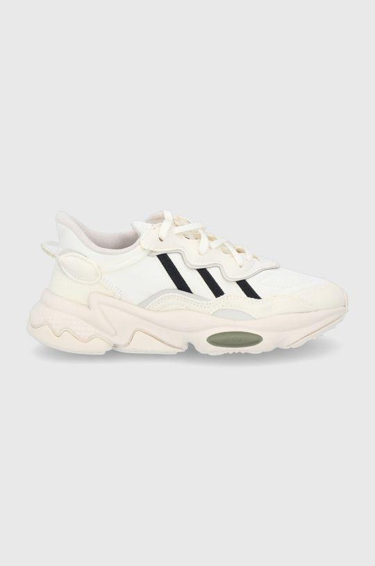kremowy adidas Originals - Buty dziecięce Ozweego Dziecięcy
