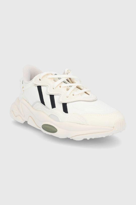 adidas Originals - Buty dziecięce Ozweego kremowy