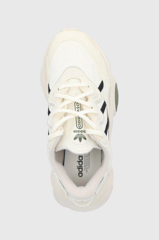 kremowy adidas Originals - Buty dziecięce Ozweego