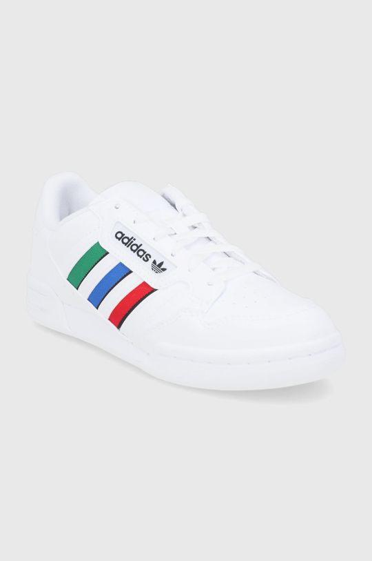 adidas Originals - Παιδικά παπούτσια Continental 80 Stripes λευκό