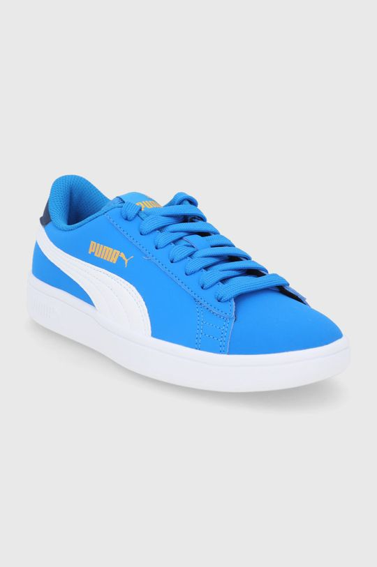 Puma - Buty dziecięce Puma Smash v2 Buck niebieski