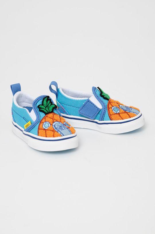 Vans - Dětské tenisky x Spongebob modrá