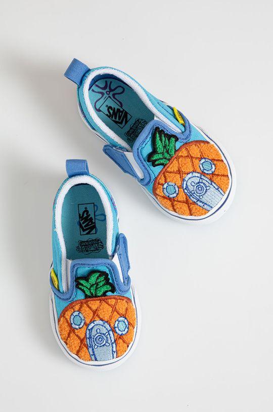 modrá Vans - Dětské tenisky x Spongebob