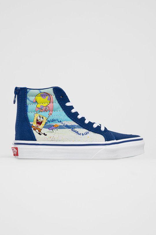 námořnická modř Vans - Dětské tenisky x Spongebob Dětský