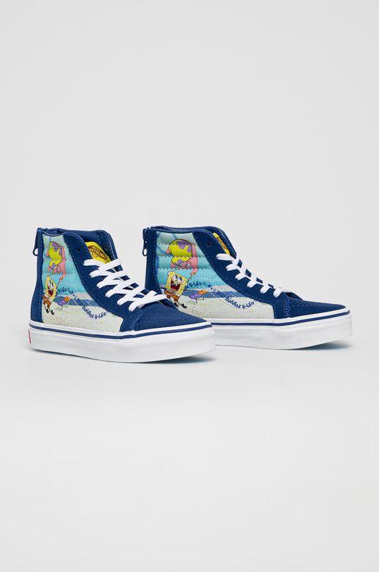Vans - Dětské tenisky x Spongebob námořnická modř