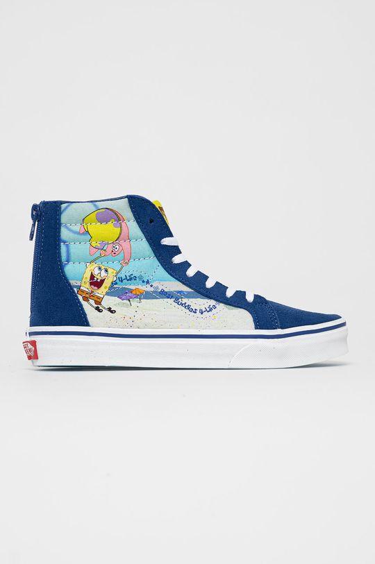 námořnická modř Vans - Kecky x Spongebob Dětský