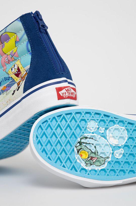 Vans - Kecky x Spongebob  Svršek: Textilní materiál, Semišová kůže Vnitřek: Textilní materiál Podrážka: Umělá hmota