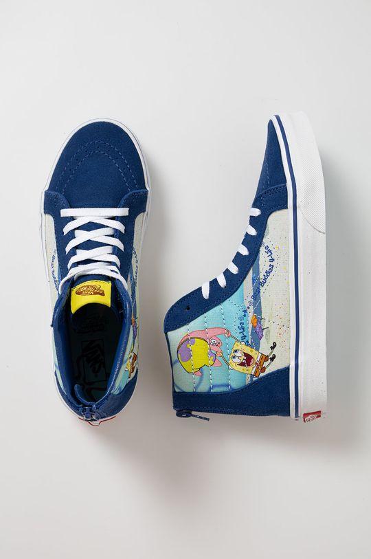 námořnická modř Vans - Kecky x Spongebob