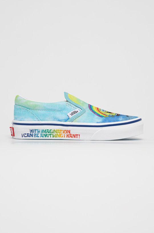 modrá Vans - Dětské tenisky x Spongebob Dětský