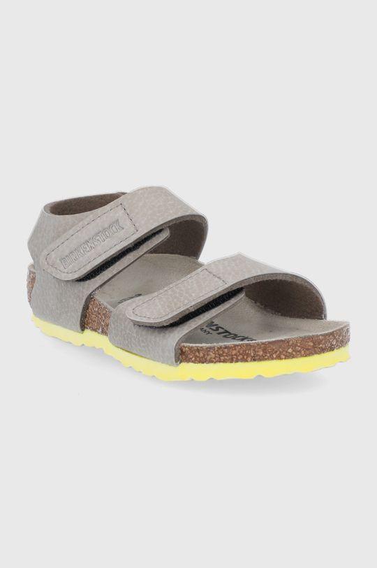 Birkenstock - Dětské sandály Palu béžová