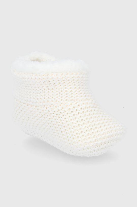 GAP - Buty niemowlęce kremowy