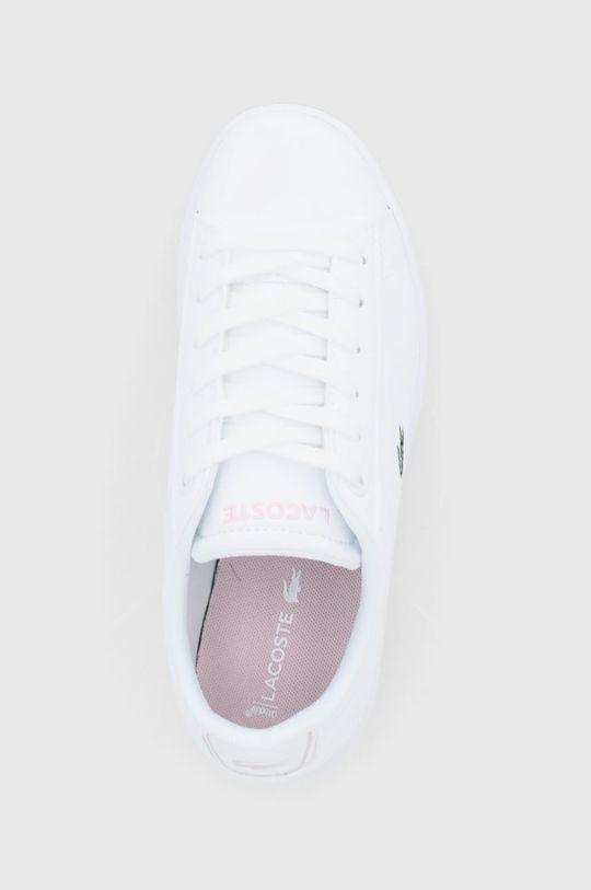 biały Lacoste - Buty dziecięce