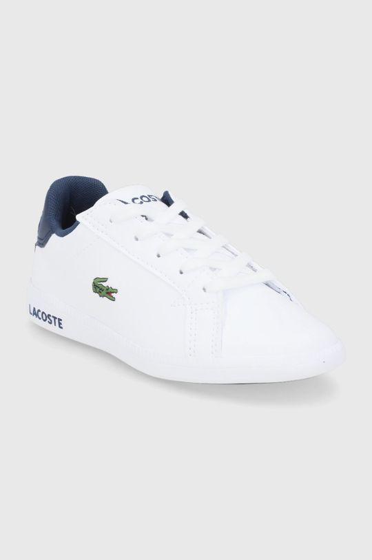 Lacoste - Buty dziecięce biały