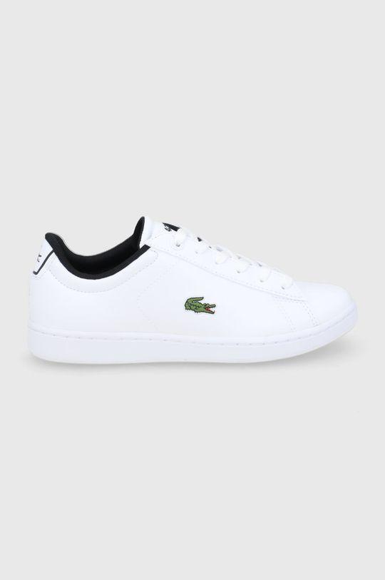 biały Lacoste - Buty dziecięce Dziecięcy
