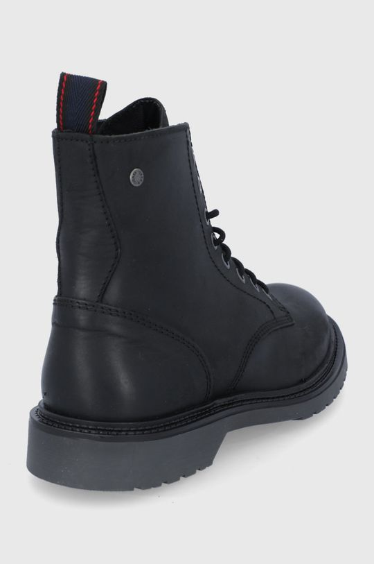 Jack & Jones - Kožené boty  Svršek: Přírodní kůže Vnitřek: Textilní materiál Podrážka: Umělá hmota