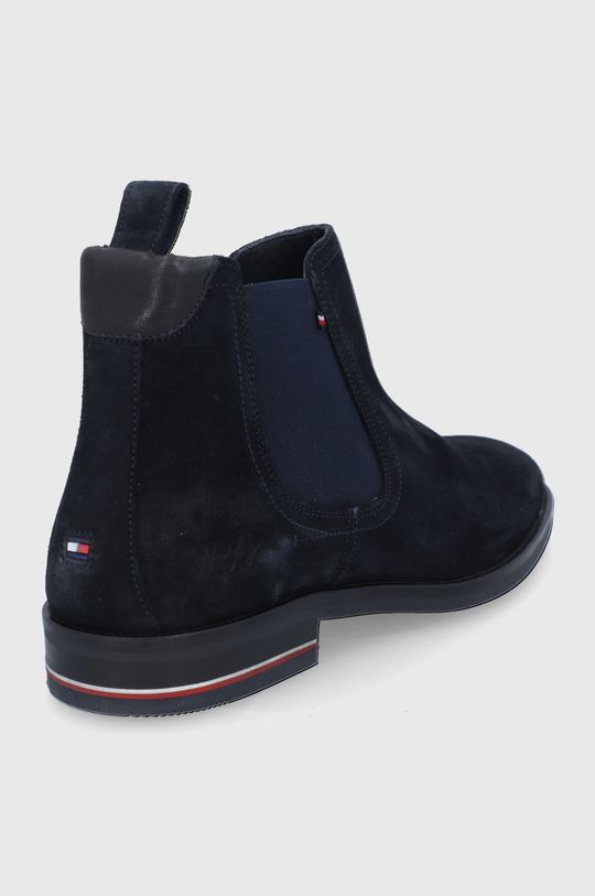 Tommy Hilfiger - Semišové kotníkové boty  Svršek: Semišová kůže Vnitřek: Textilní materiál, Přírodní kůže Podrážka: Umělá hmota