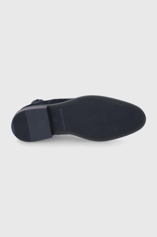 Tommy Hilfiger - Semišové kotníkové boty Pánský