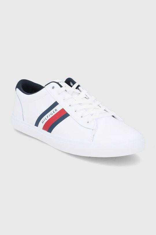 Tommy Hilfiger - Buty skórzane biały