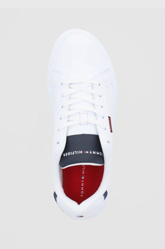 biały Tommy Hilfiger - Buty skórzane