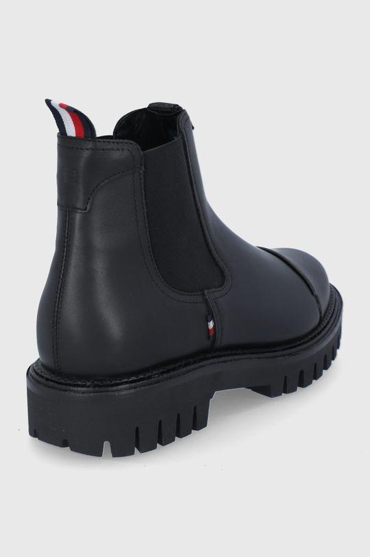 Tommy Hilfiger - Kožené kotníkové boty  Svršek: Přírodní kůže Vnitřek: Textilní materiál, Přírodní kůže Podrážka: Umělá hmota