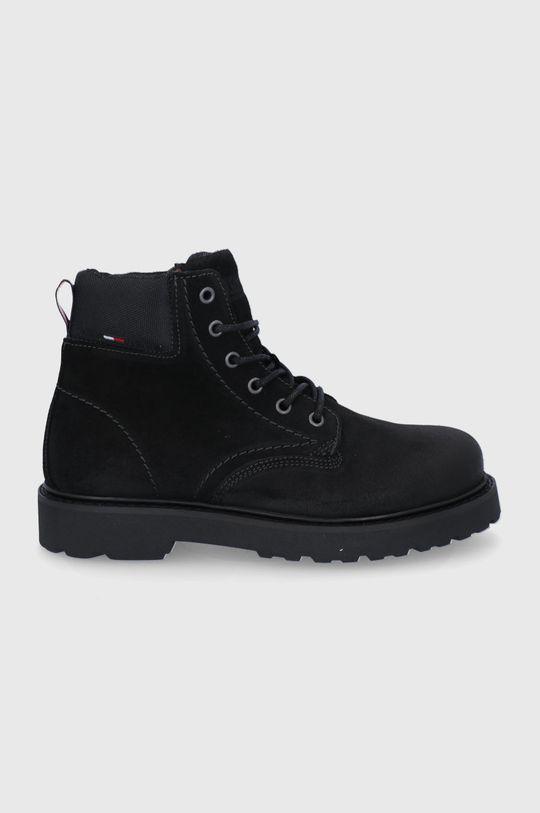 černá Tommy Jeans - Trapery Pánský