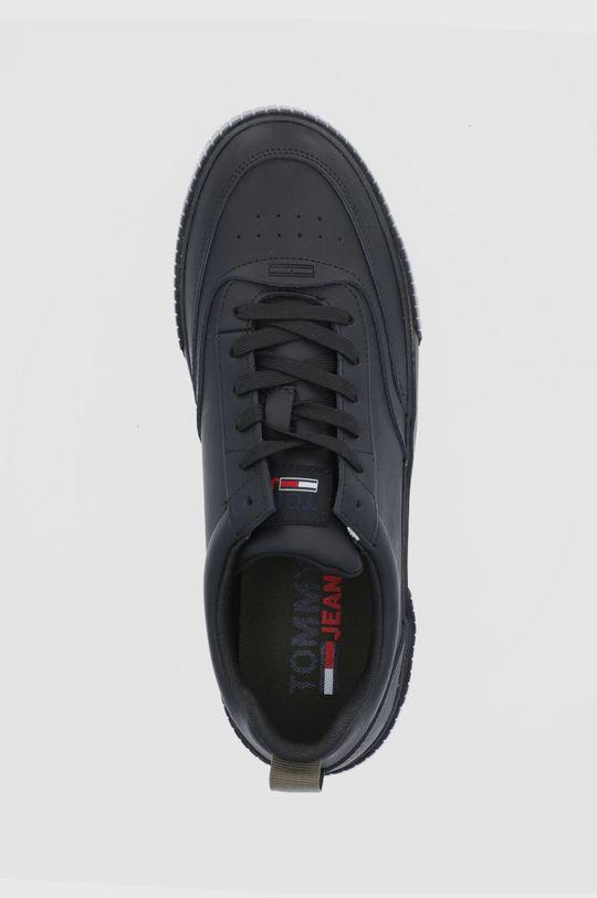 czarny Tommy Jeans - Buty skórzane