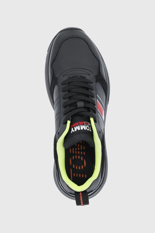 čierna Tommy Jeans - Topánky
