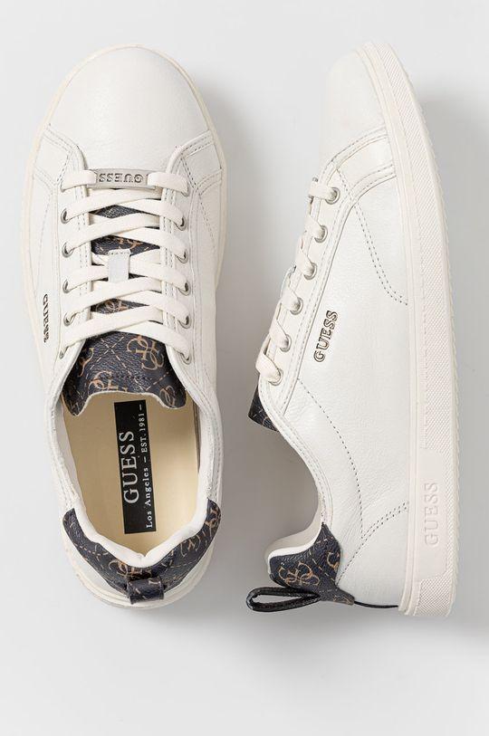 bílá Guess - Kožené boty